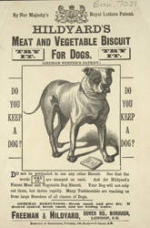 Advert For Hildyard's Dog Food 7031